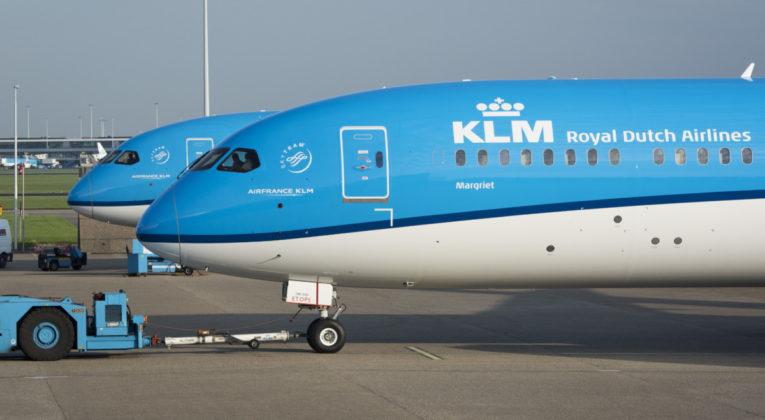 KLM 787 dreamliner
