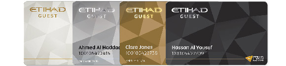 Etihad Guest cards