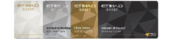 Etihad Guest cards