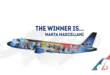 Brussels Airlines smurfen