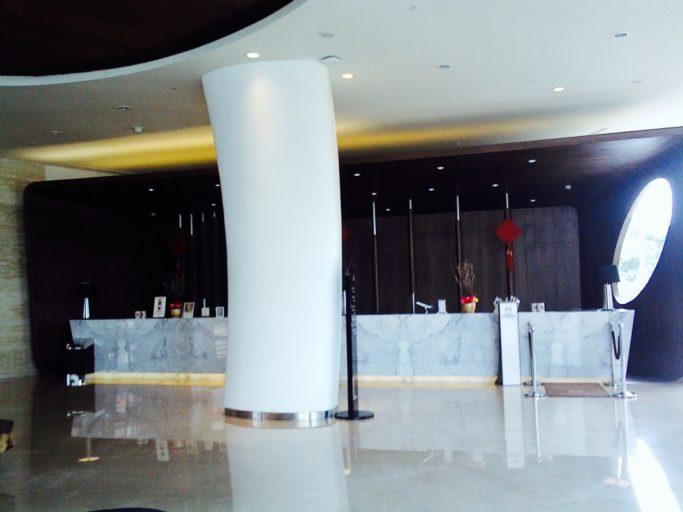 Receptie, lobby, Hilton
