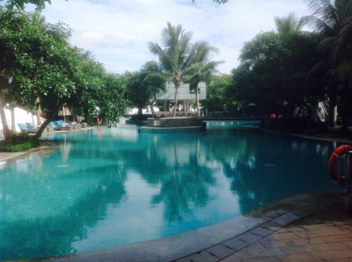 Zwembad, Hilton, Hotel