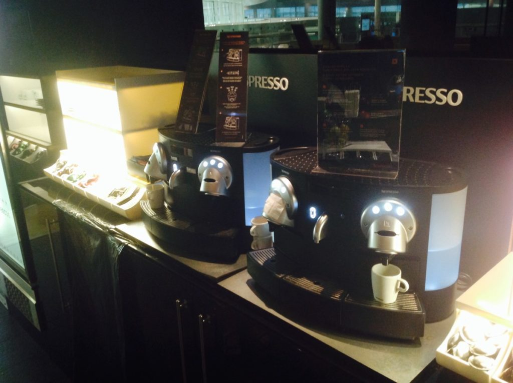 Lounge, Barcelona, Espressoapparaat