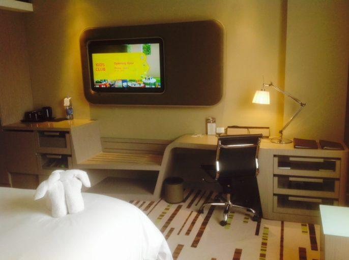 Televisie, Bureau, Hotel