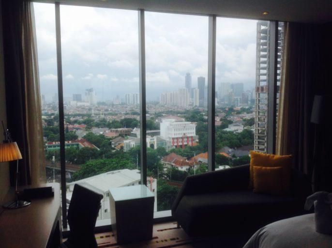 Uitzicht, Jakarta, Hotel