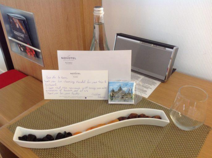 Welkomstgeschenk, Hotel, Novotel, Boekarest, Souvenir, Platinum