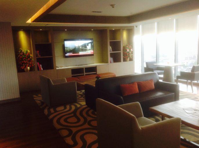 Executive Lounge, Jakarta, Hilton, Zitplaatsen