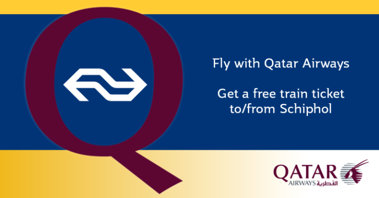 treinkaartje bij Qatar AIrways
