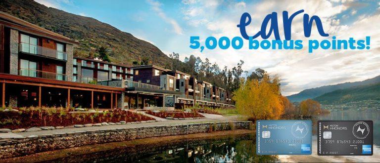 Hilton 5000 punten Amex