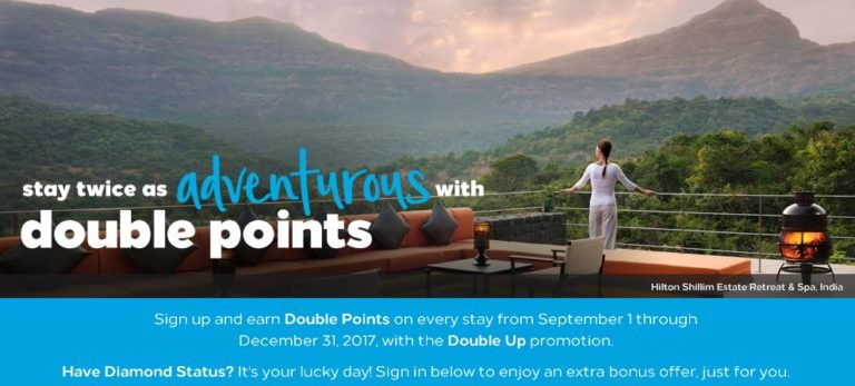 Hilton Double Points