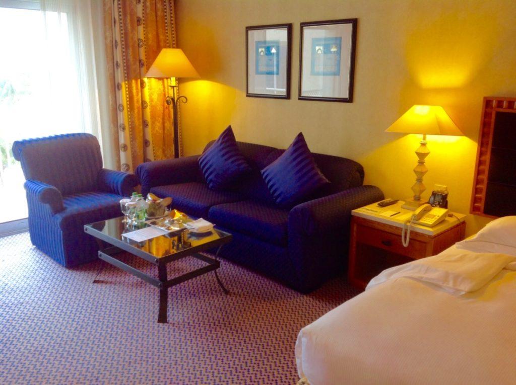 Sofa, hotel