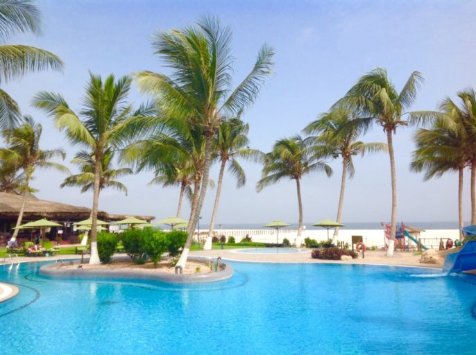 Hilton, Salalah, Oman, hotel, swimming pool, pool