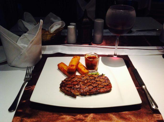 Steak House, Dinner, Hilton
