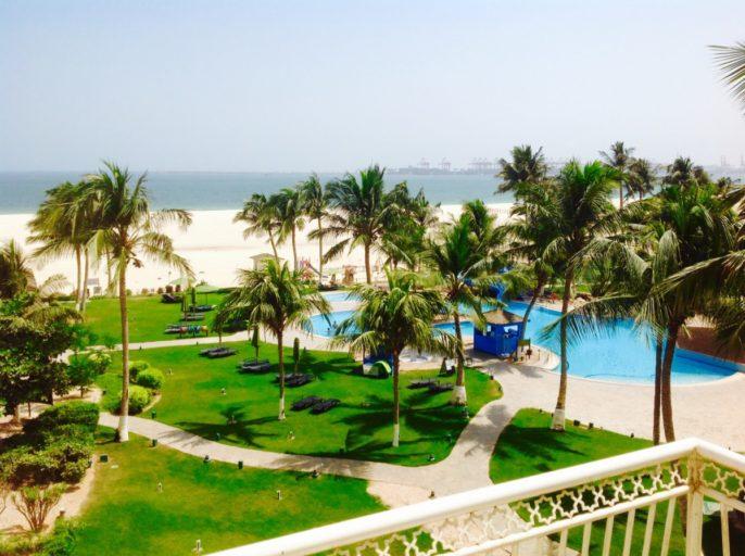 Sea view, hilton, salalah, balcony, hotel