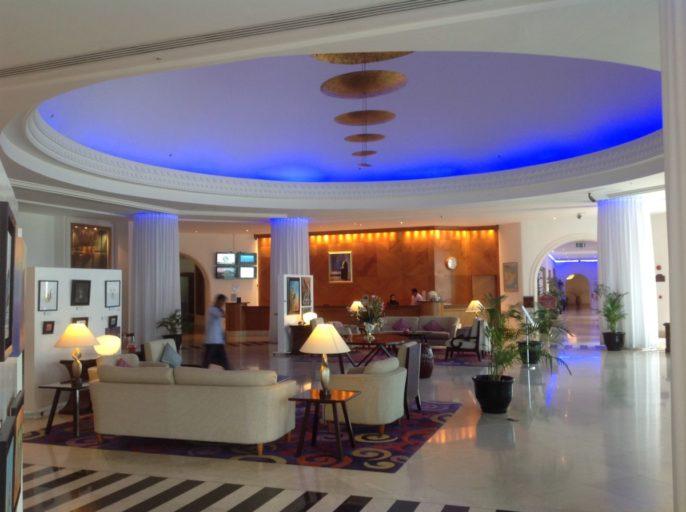 Hilton, Salalah, lobby, reception