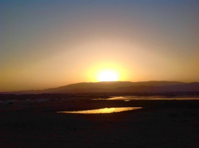 Oman, Zonsondergang, Sur