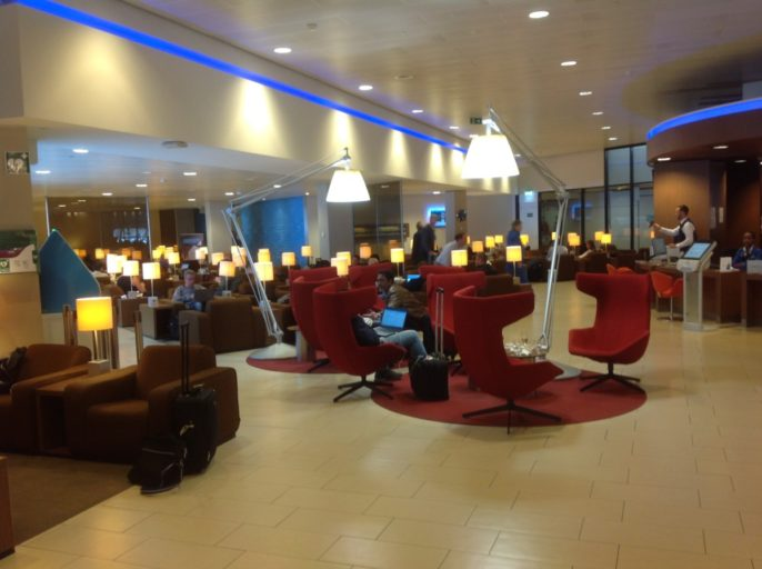 KLM, crown lounge