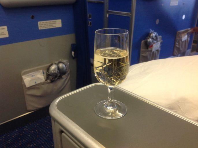 champagne, klm