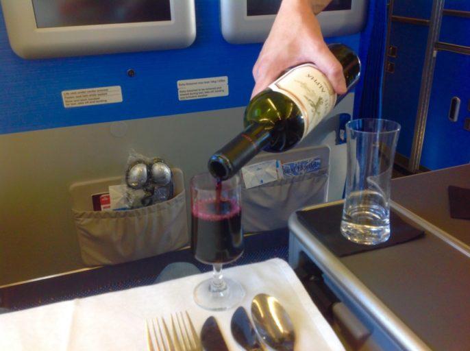 Montes Alpha Carmenère, wijn, klm
