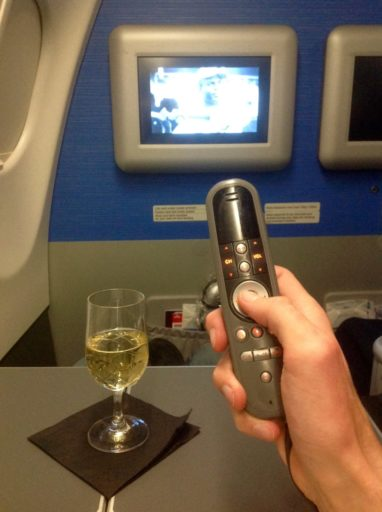 in-flightentertainment, klm, business class, a330