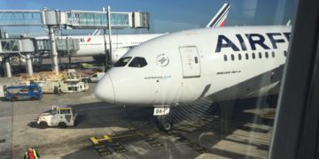 Air France Dreamliner 787 Lyon