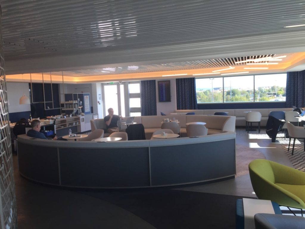 Air France lounge Charles de Gaulle 2G