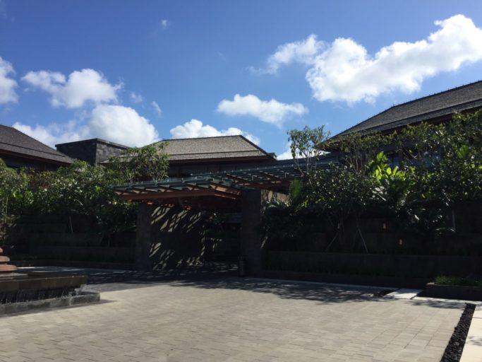 Indigo Bali - hoofdingang