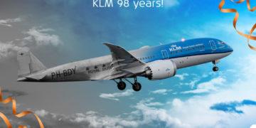 KLM viert verjaardag