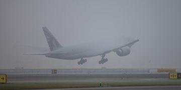 schiphol weer mist