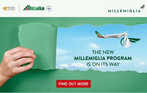 MilleMiglia, Alitalia, SkyTeam