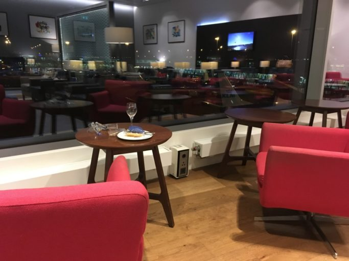 British Airways, lounge, Amsterdam, Schiphol