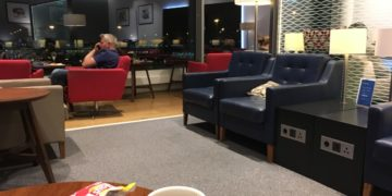 British Airways, lounge, Amsterdam, Schiphol