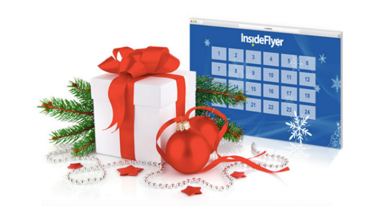 InsideFlyer Adventskalender win prijzen