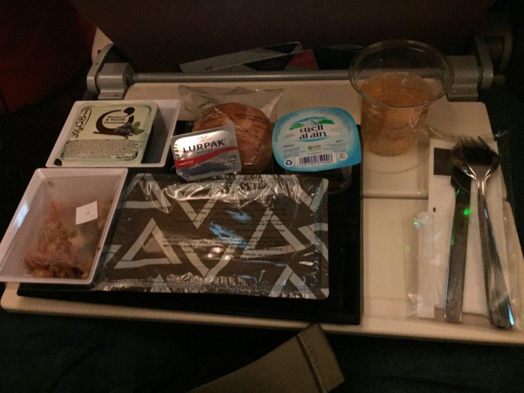 Etihad Economy Class 787 Dreamliner Amsterdam
