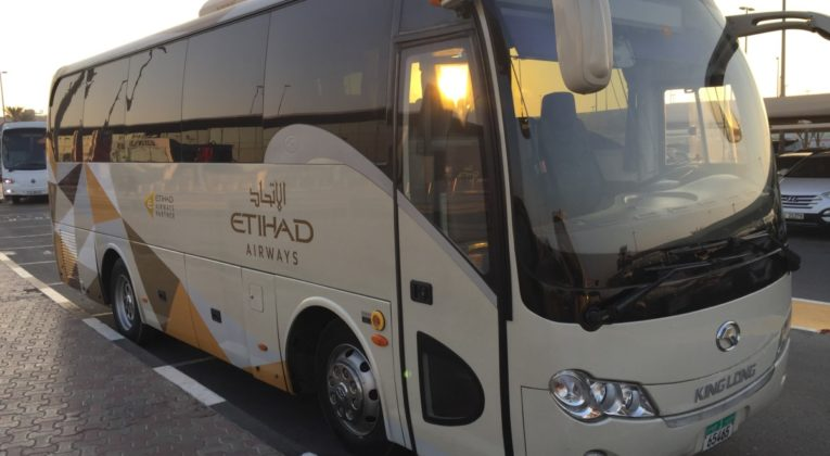 Image result for abu dhabi airport etihad coach