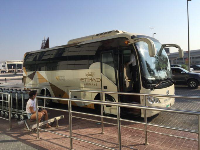 Etihad bus shuttle Abu Dhabi Dubai