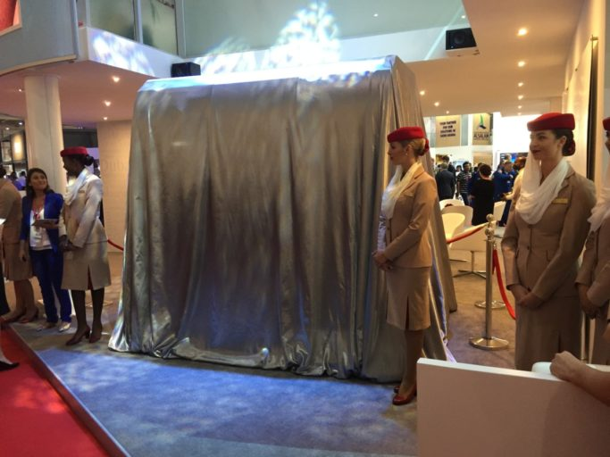 Emirates First Class launch