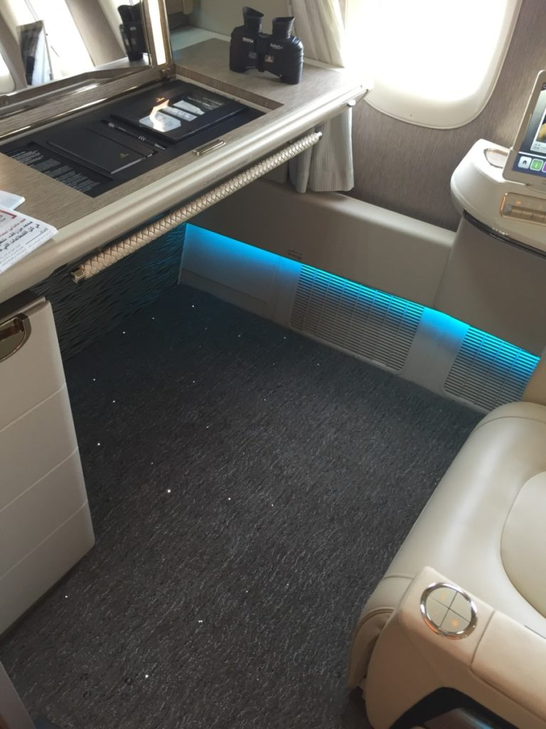 Emirates first class suite Boeing 777