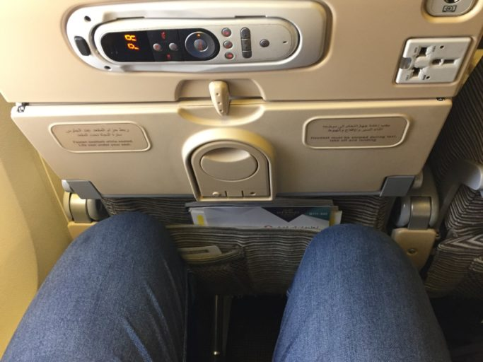 Etihad Economy Class Boeing 777