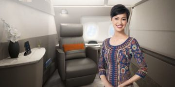 Singapore Airlines new First Suites Class