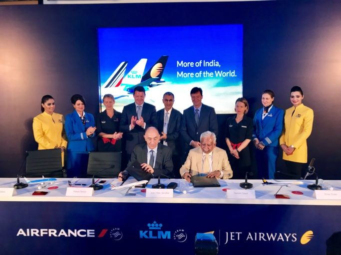 Jet Airways KLM joint venture