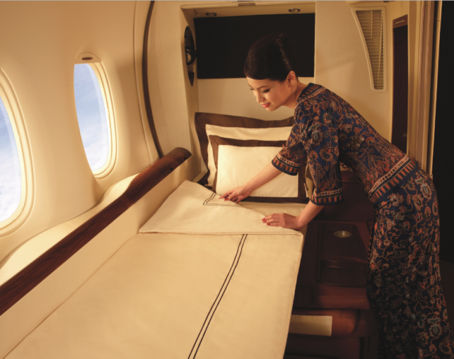 Singapore Airlines, First Class, A380