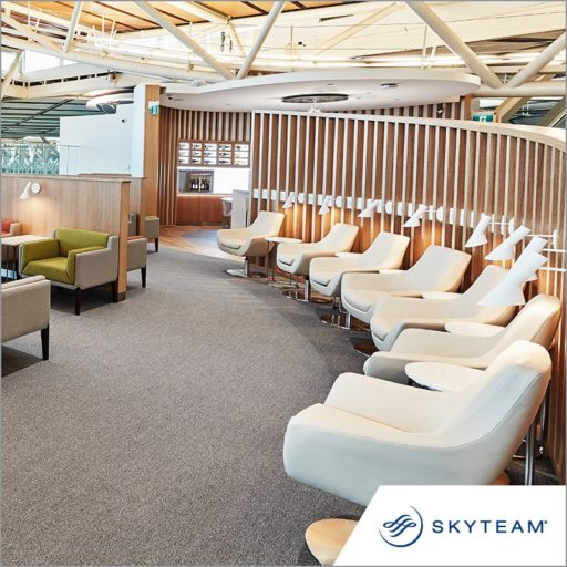 Skyteam lounge Vancouver