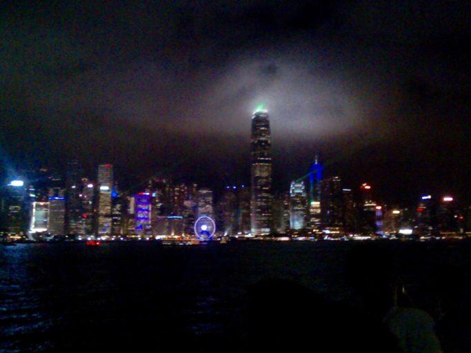 skyline, Hong Kong island