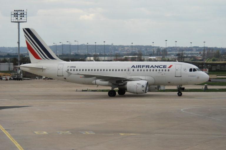 De A319 van Air France (Bron: Air France)