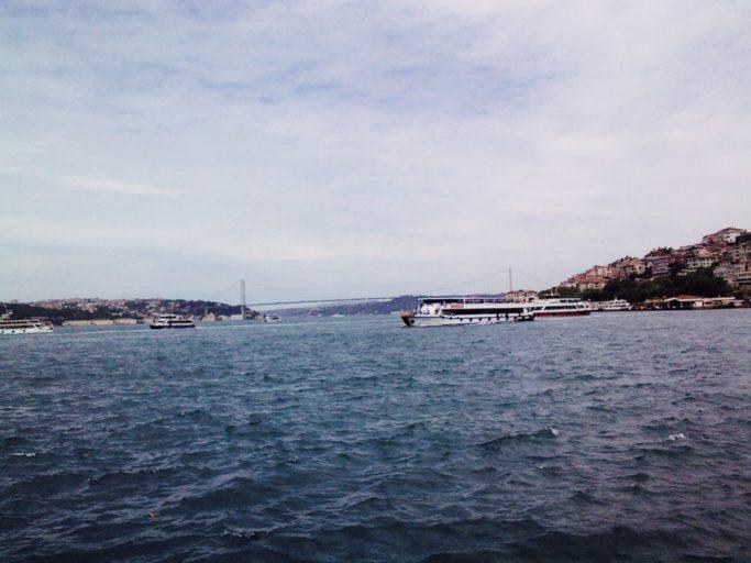 istanbul. bosporus, aziatische deel, rivier
