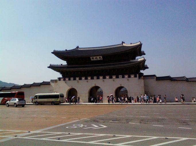 paleis, Gyengbok-Gung, seoul