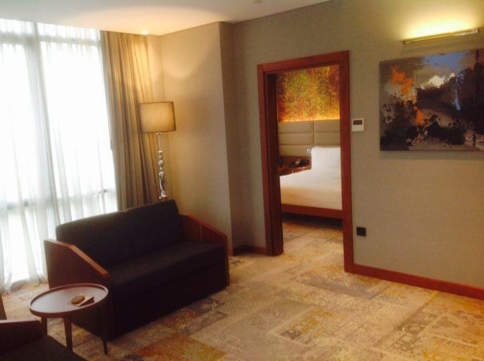 Istanbul, hilton, suite
