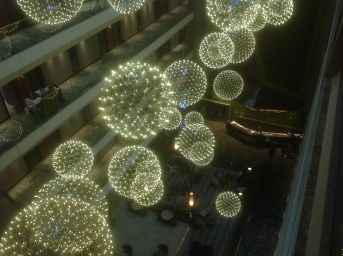 hilton, istanbul, lobby