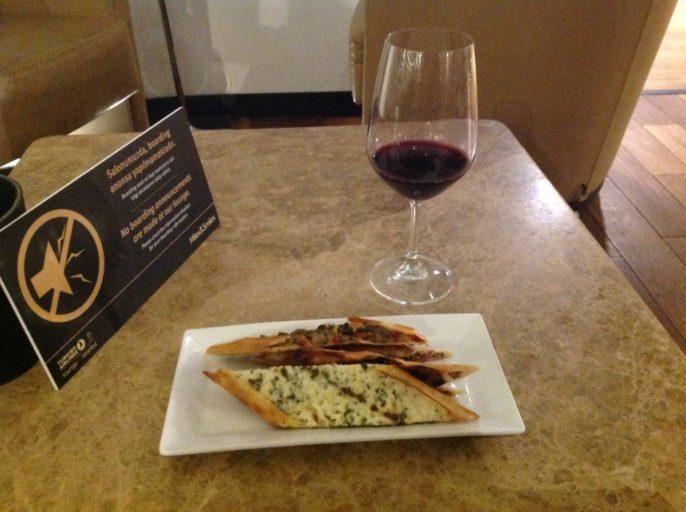 lounge, pide, wijntje